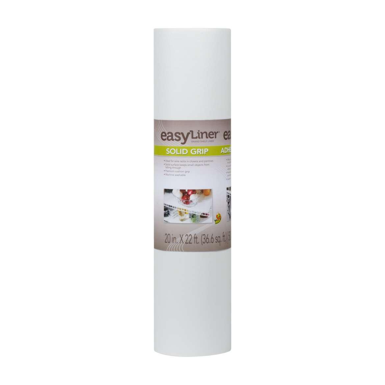Solid Grip Easy Liner® Brand Shelf Liner - White, 20 in. x 22 ft. Image