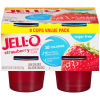 Jell-O Ready To Eat Strawberry Sugar Free Gelatin 25 oz Sleeve (8 Cups)