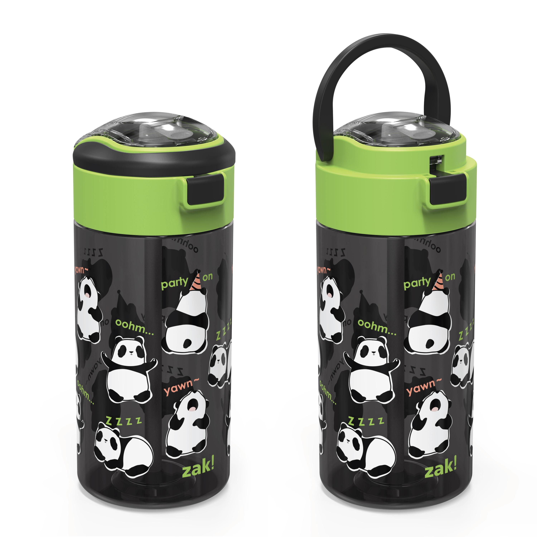 Genesis 18 ounce Water Bottles, Panda, 2-piece set slideshow image 6