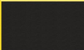 Crescent Yellow on Black 32x40