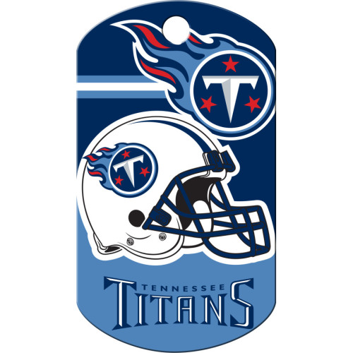 Tennessee Titans Large Military ID Quick-Tag 5 Pack