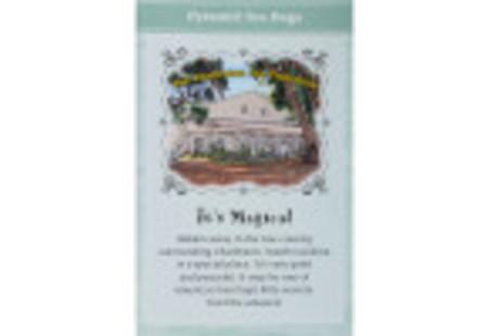 Back of Charleston Tea Carolina Mint Black Tea box