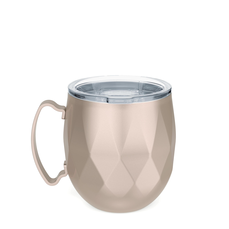 Fractal 19 ounce Mule Mug, Rose Gold slideshow image 3