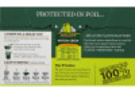 Back of Matcha Green Tea with Turmeric box
