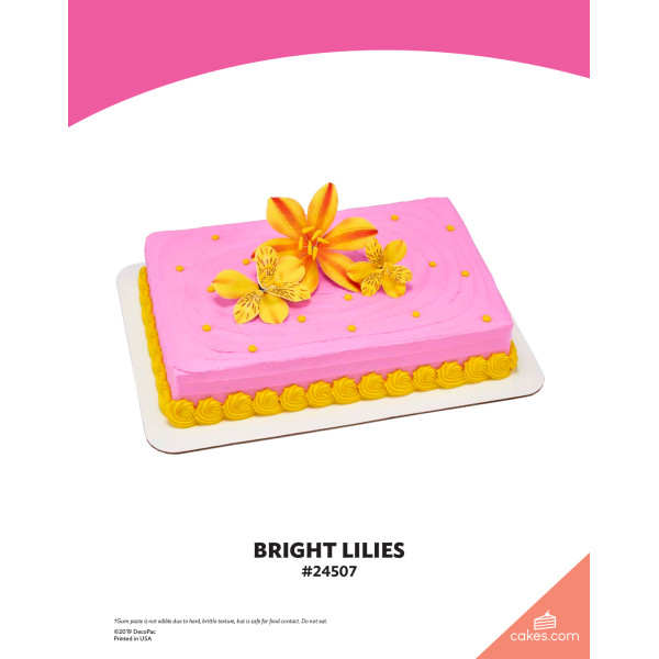 Bright Lilies The Magic of Cakes® Page