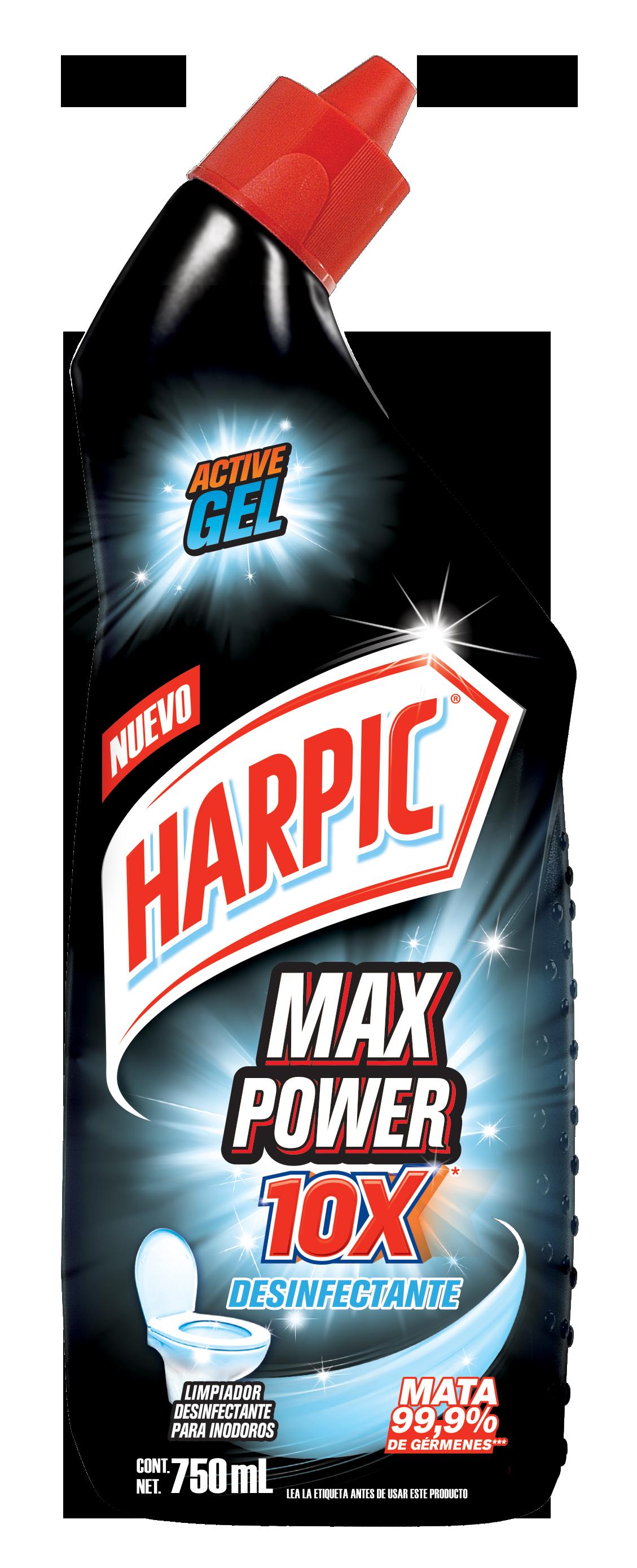 Harpic® Max Power 10x Desinfectante 750ml