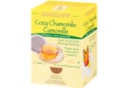 Right facing Cozy Chamomile Herbal Tea for Pod Machine tea box