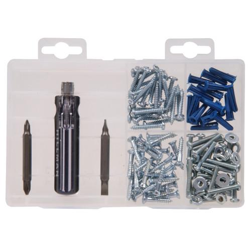 Screws with Screwdriver Kit Medium