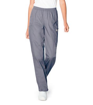 Scrub Zone Ladies Elastic Waist Cargo Pant - 83221-
