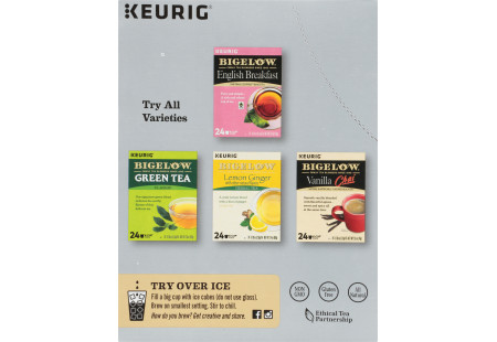 Keurig Bigelow Earl Grey Tea K-Cups box of 24