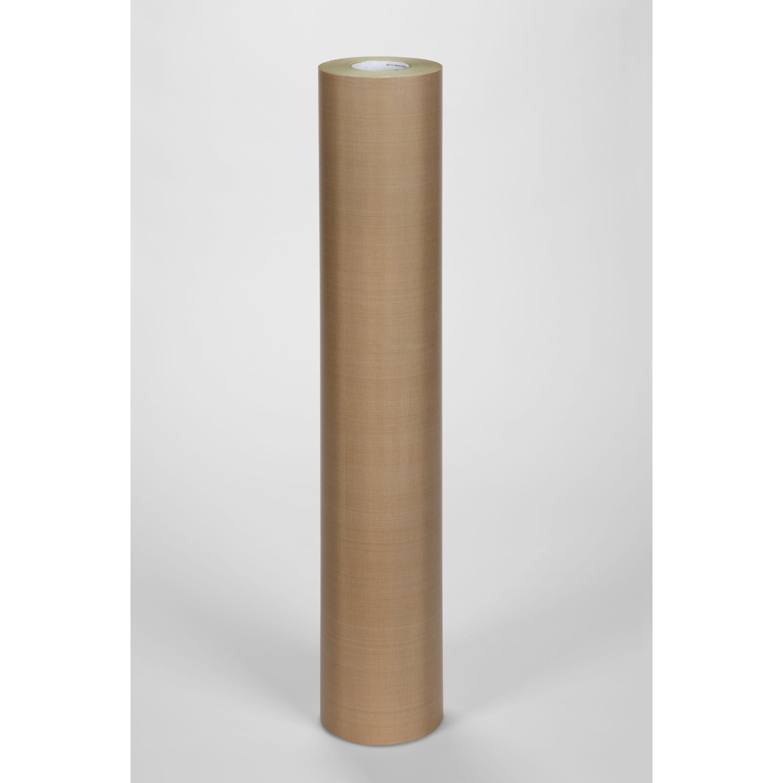 3M™ General Purpose PTFE Glass Cloth Tape 5153L, Light Brown, 36 in x 36 yd, 8 mil, 1 roll per case