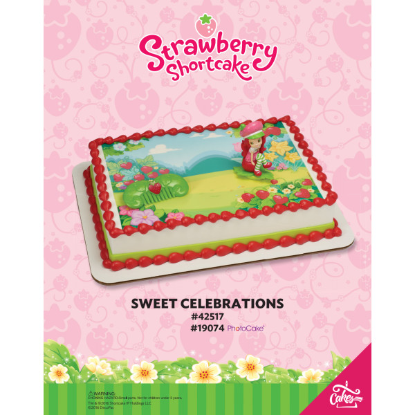 Strawberry Shortcake™ Sweet Celebration DecoSet® The Magic of Cakes® Page