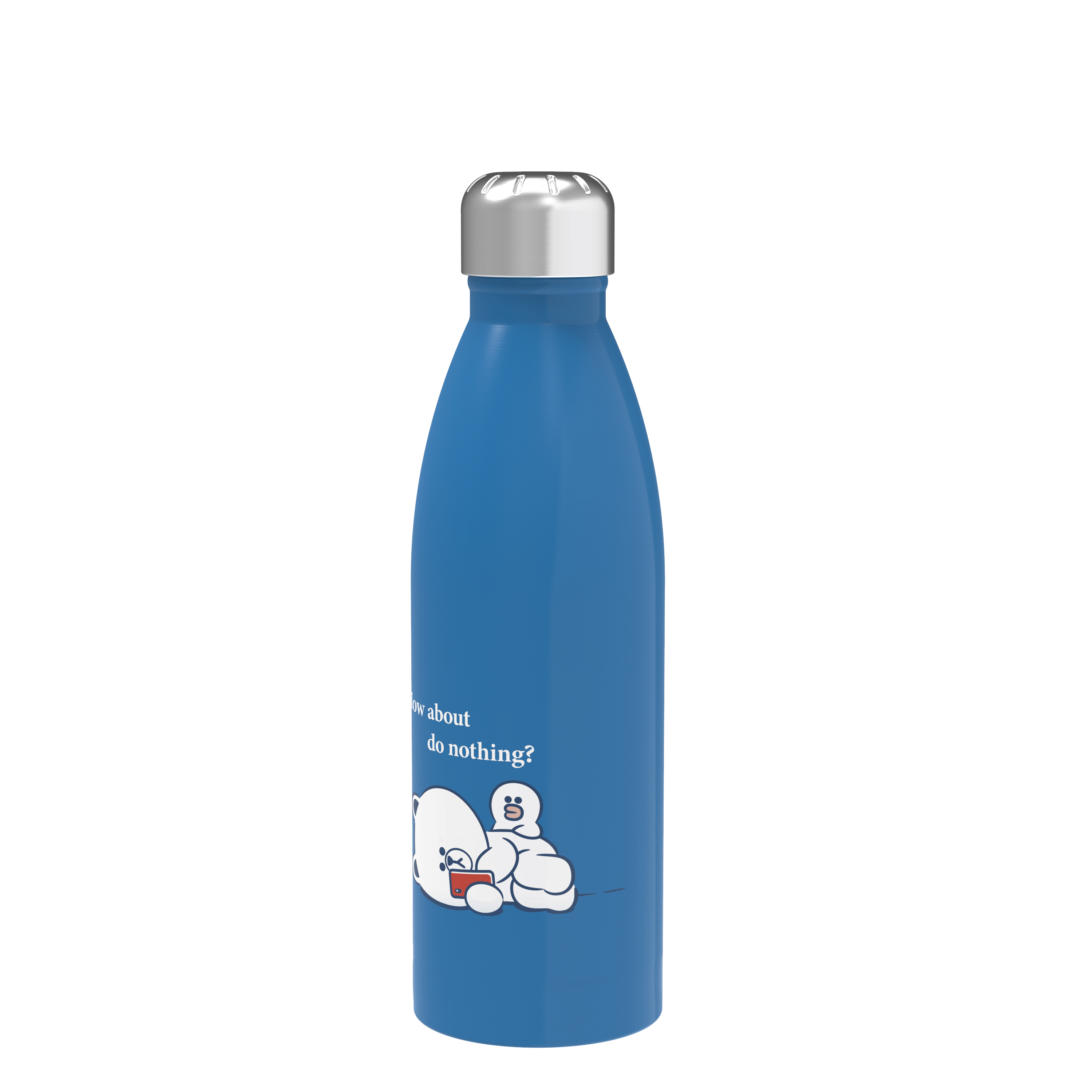 Line Friends 17.5 ounce Vacuum Insulated Stainless Steel Water Bottle, Cuddly Friends slideshow image 3