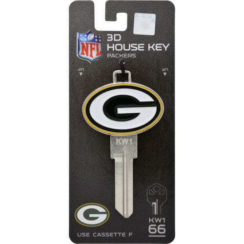 NFL Green Bay Packers 3D Key Blank