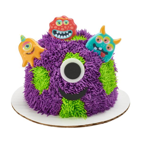 Eyeball Monsters Cupcake Rings