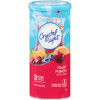 Crystal Light Fruit Punch Drink Mix 6 count Canister