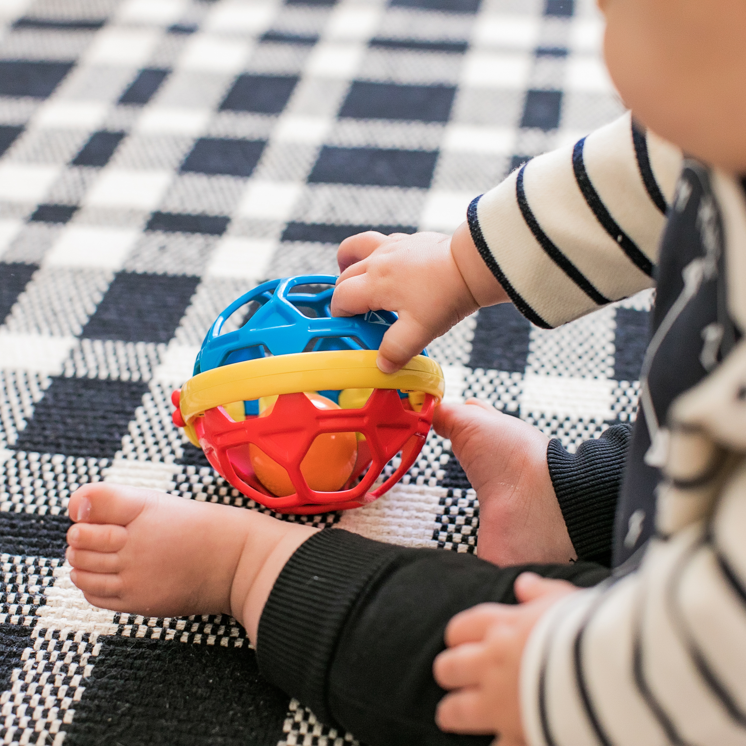 Bendy Ball™ Rattle Toy