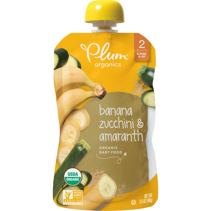 Banana, Zucchini & Amaranth Baby Food