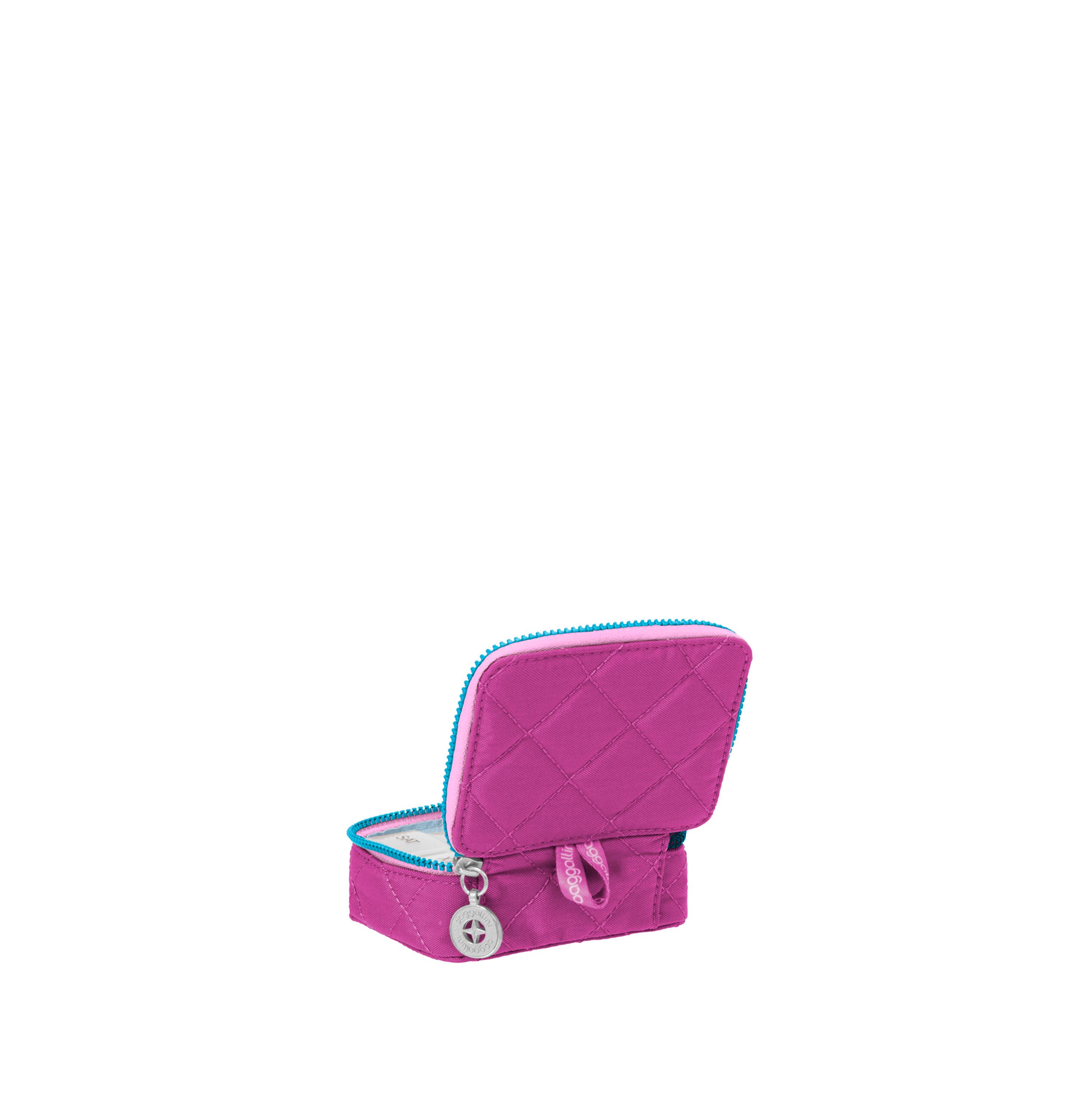 baggallini-Women-039-s-TSA-Friendly-Travel-Pill-Case-Nylon-Multiple-Colors thumbnail 5