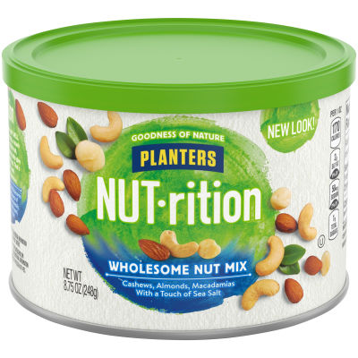 Planters NUT-rition Wholesome Nut Mix 8.75 oz Canister