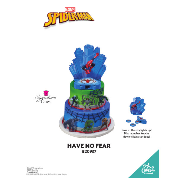 Marvel's Spider-Man Have No Fear Signature Signature DecoSet® The Magic of Cakes® Page