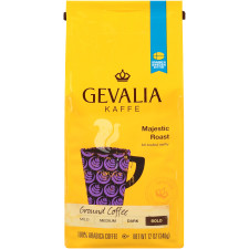 Gevalia Bold Majestic Roast Ground Coffee 12 oz Bag