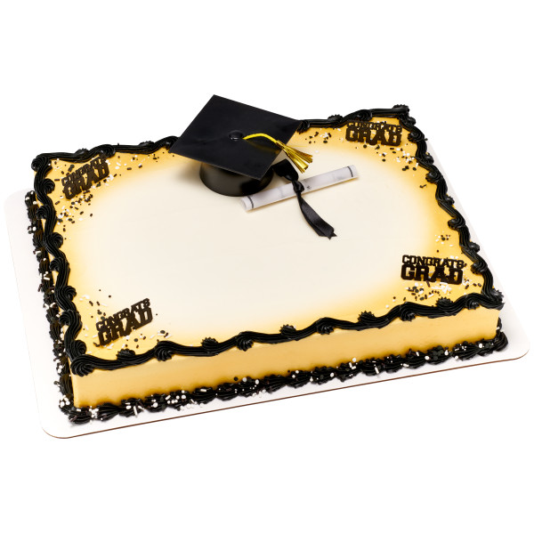 Graduation Diploma with Black Ribbon Layon