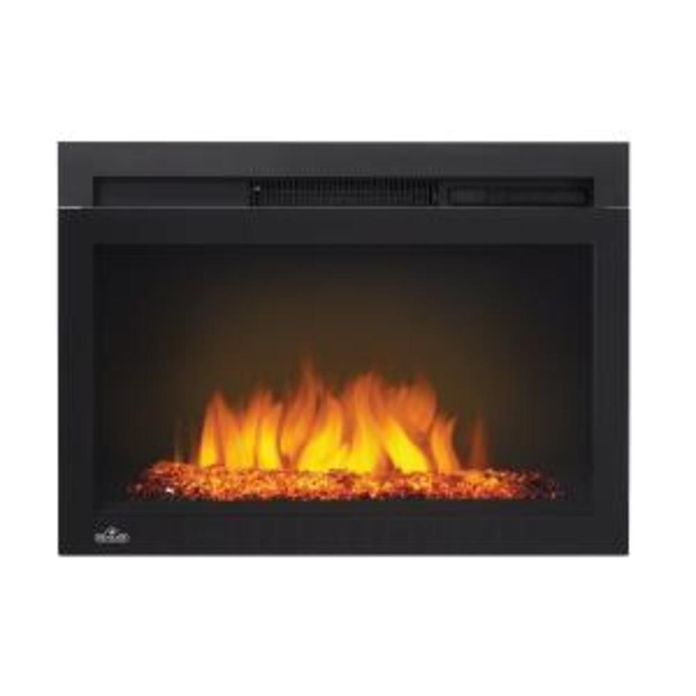 Click to view Cinema™ Glass 24 Built-in Electric Fireplace
