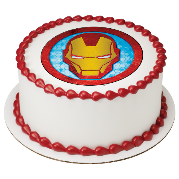 Marvel's Avengers Iron Man Icon PhotoCake® Image