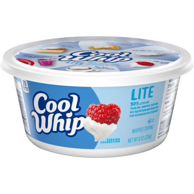 Cool Whip Lite Whipped Topping 8 oz Tub