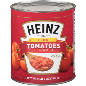 HEINZ Diced Tomato in Juice, 102 oz. Can (Pack of 6) image