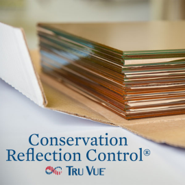 Tru Vue Conservation Reflection Control Glass 32