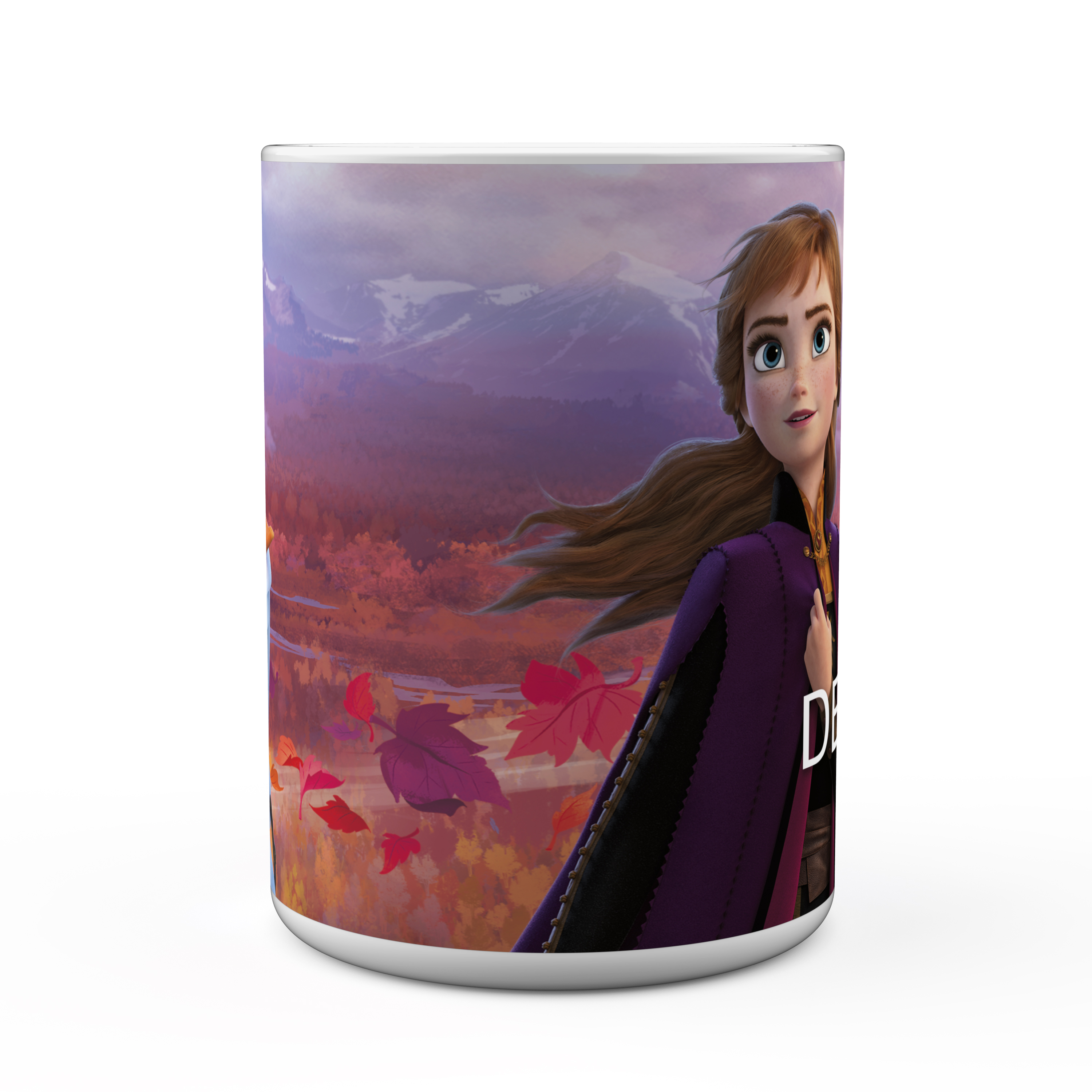 Disney Frozen 2 Movie 15 ounce Coffee Mug and Spoon, Anna, Elsa & Olaf slideshow image 3