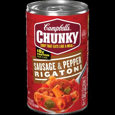 Sausage & Pepper Rigatoni Soup