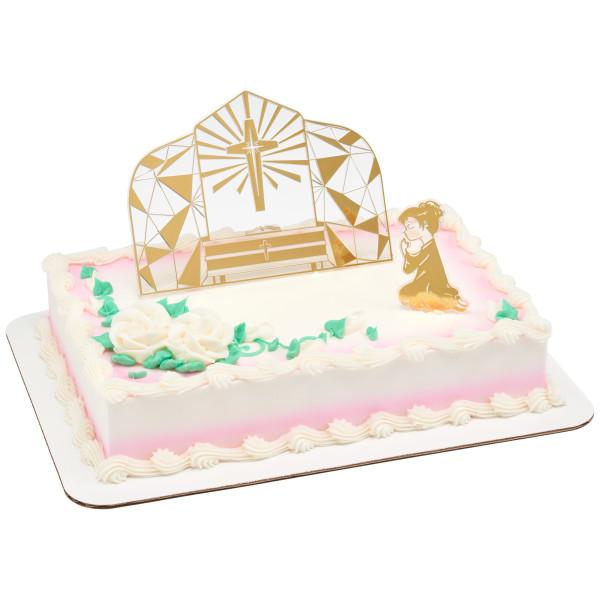 Communion Girl Cake Kit