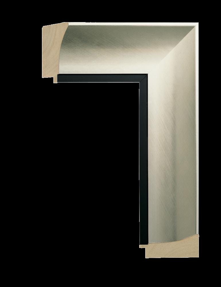 Intaglio Silver w/Black 3