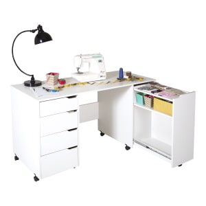 Crea - Sewing Craft Table on Wheels
