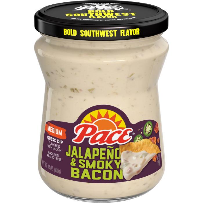 Jalapeño & Smoky Bacon Queso Dip