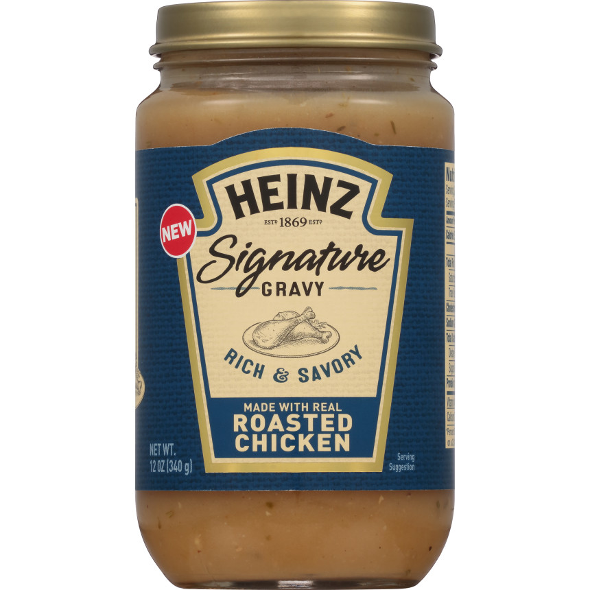 Heinz Signature Roasted Chicken Gravy, 12 oz Jar image