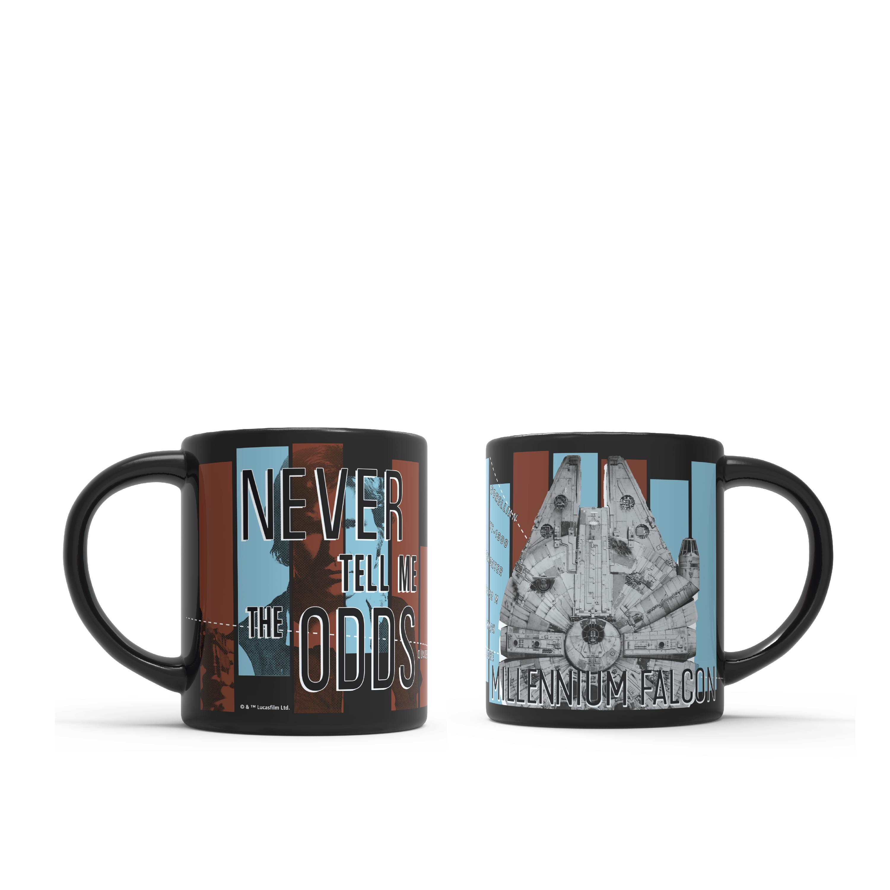 Star Wars 16 ounce Coffee Mug and Spoon, Millenium Falcon slideshow image 9