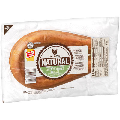 Oscar Mayer Natural Uncured Turkey Sausage 13 oz