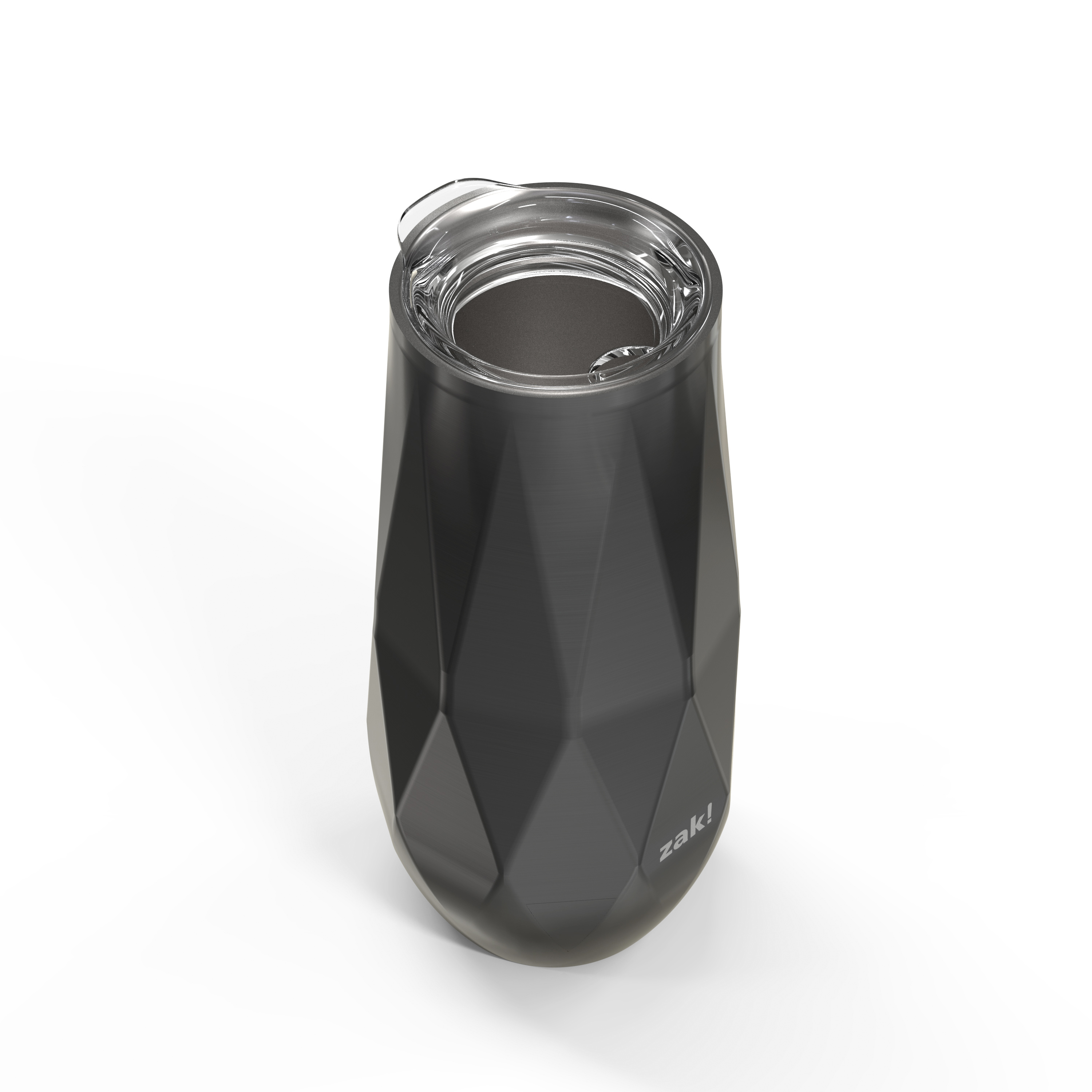 Fractal 9 ounce Vacuum Insulated Stainless Steel Tumbler, Black slideshow image 3