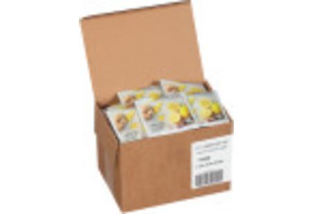 steep cafe by Bigelow organic full leaf lemon ginger herbal tea pyramid bag in overwrap