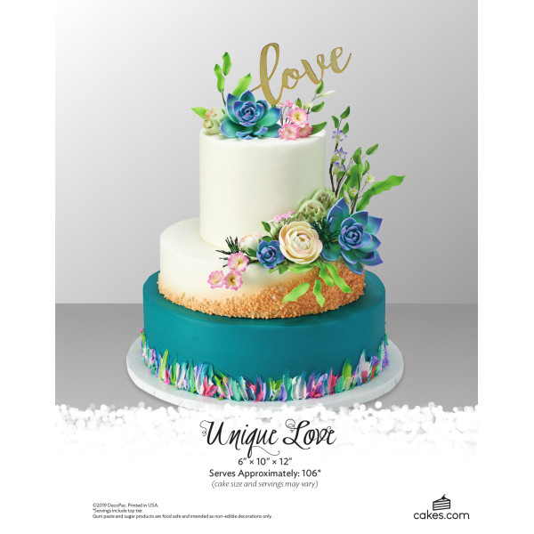 Unique Love Wedding The Magic of Cakes® Page