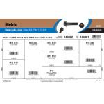 Class 10.9 Metric Flange Bolts & Nuts Assortment (M12-1.75 Thread)