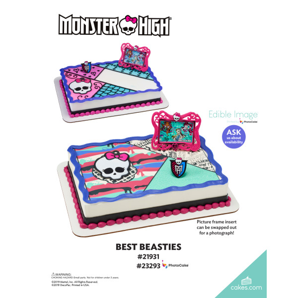 Monster High™ Best Beasties DecoSet® The Magic of Cakes® Page