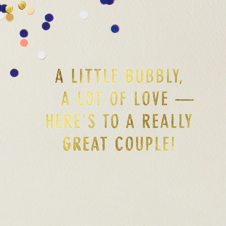 Champagne Anniversary Card image