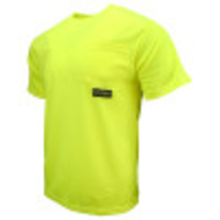 Radians ST11-N Non-Rated Short Sleeve Safety T-shirt with Max-Dri™