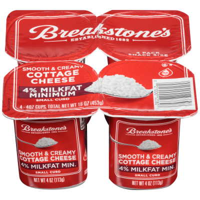 Cottage Cheese Snack Pack - 4%