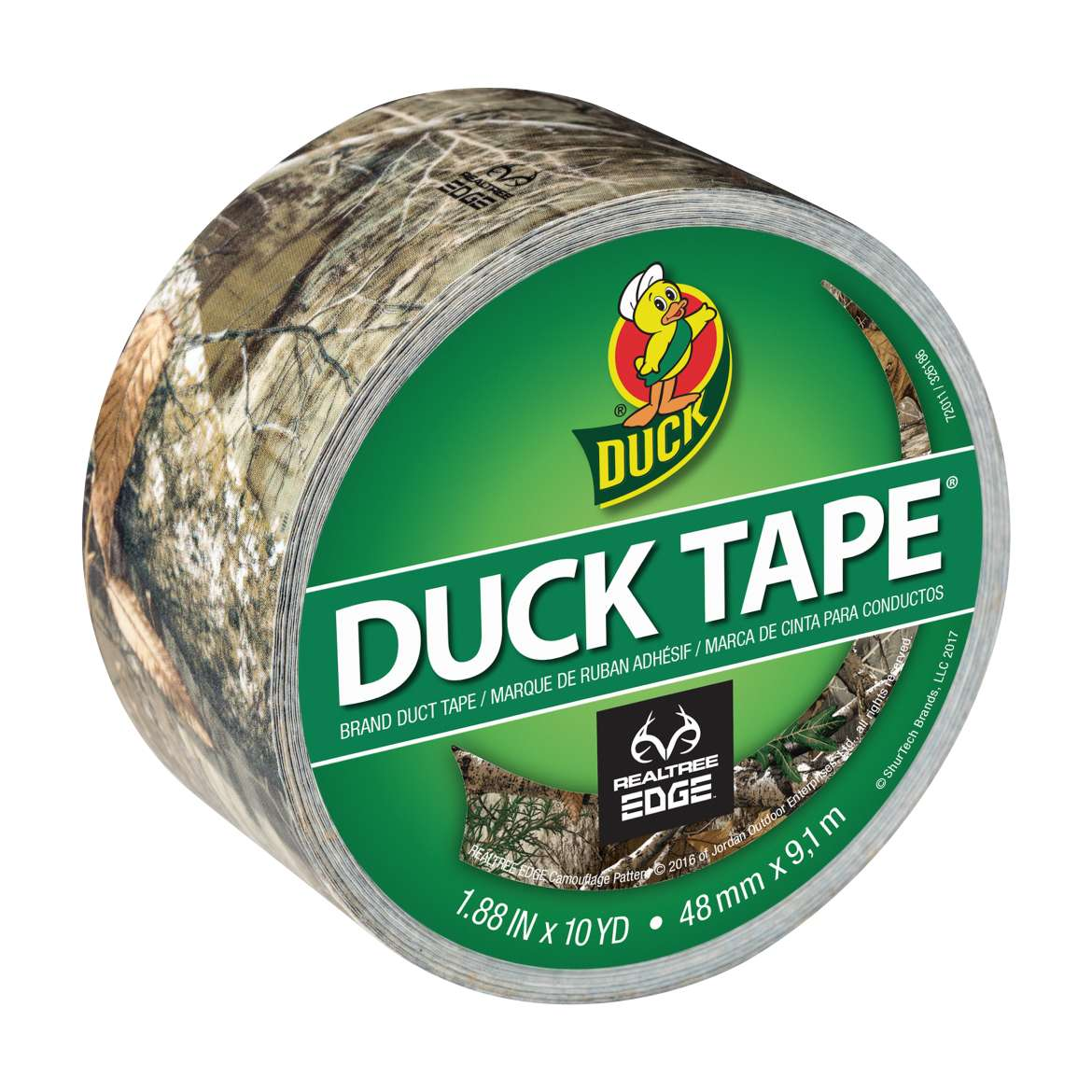 Realtree Edge™ Camo Duck Tape® Brand Duct Tape, 1.88 in. X 10 yd. Image